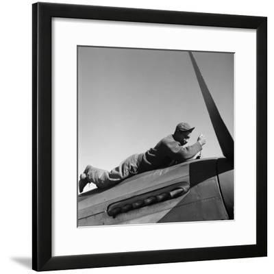 Tuskegee Airman, 1945