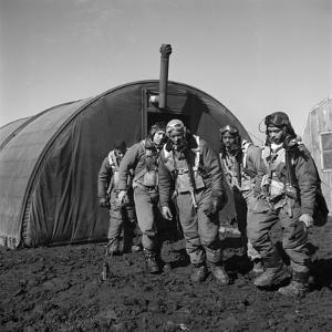 WWII: Tuskegee Airmen, 1945 by Toni Frissell