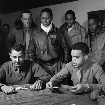 WWII: Tuskegee Airmen, 1945