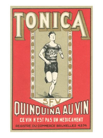 Tonica, Belgian Quinine Wine--Art Print