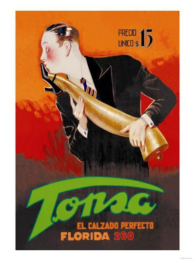 Tonsa: The Perfect Footwear--Art Print