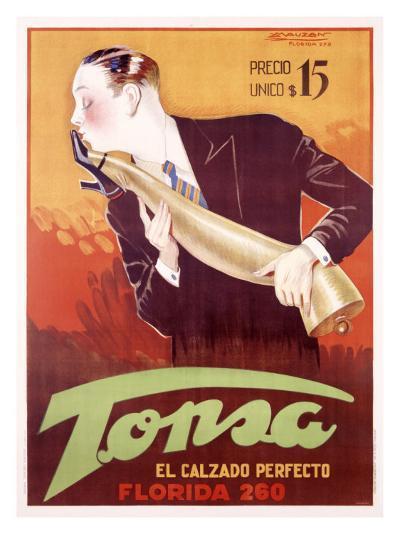 Tonsa-Achille Luciano Mauzan-Giclee Print
