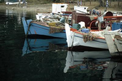 Harbour, Meganisi, near Levkas, Greece