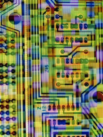 Abstract Image of a Circuit Board.