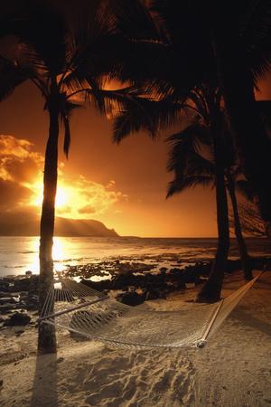 Beach At Sunset