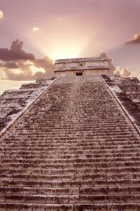 El Castillo, Chichen Itza, Mexico by Tony Craddock