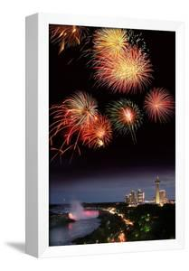 Fireworks Display Over Niagara Falls by Tony Craddock