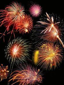 Fireworks Display by Tony Craddock