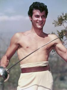 Tony Curtis THE PURPLE MASK, 1955 directed by H. BRUCE HUMBERSTONE (photo)
