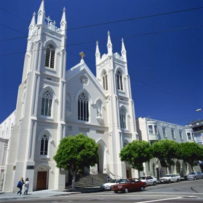 Old St. Mary's Church in San Francisco, California, United States of America, North America