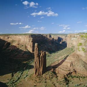 Spider Rock, Canyon De Chelly National Monument, Arizona, USA by Tony Gervis