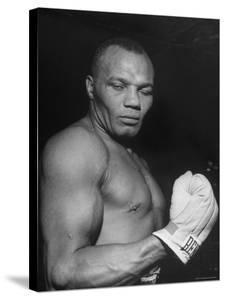 Boxer Joe Walcott by Tony Linck