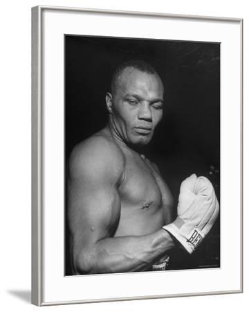 Boxer Joe Walcott