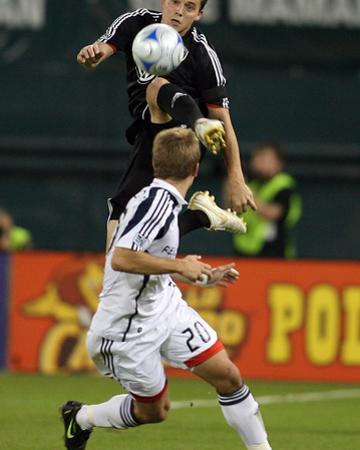 Oct 17, 2008, New England Revolution vs D.C. United - Marc Burch by Tony Quinn