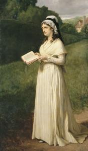 Charlotte Corday à Caen en 1793 by Tony Robert-fleury