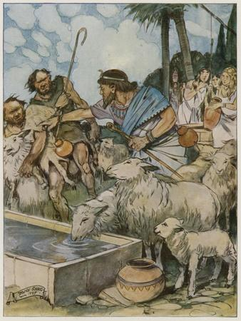And He Made the Shepherds Let the Shepherdesses' Flocks Drink