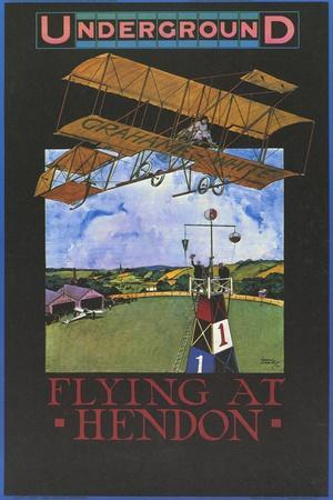 Flying At Hendon
