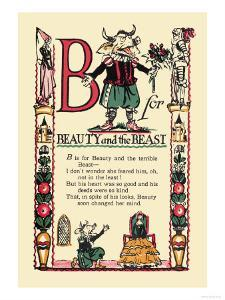 B for Beauty and the Beast by Tony Sarge