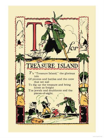 T for Treasure Island