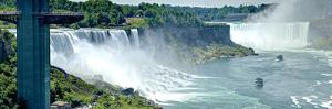 Niagara Falls Seen from the Rainbow Bridge. Us-Can by Tony Shi Photography