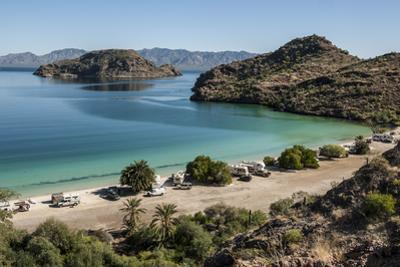 Bay near Loreto, into Sea of Cortez, Baja California, Mexico, North America