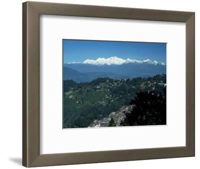 Kanchenjunga Massif Seen from Tiger Hill, Darjeeling, West Bengal State, India