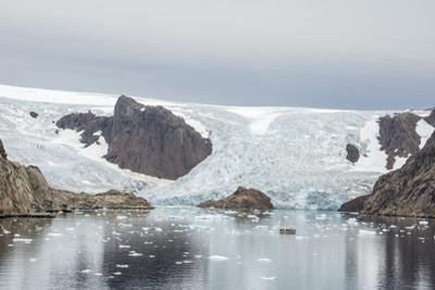 Kujatdeleq Glacier, Prins Christian Sund, southern Greenland, Polar Regions