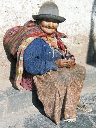 Local Resident, Cuzco, Peru, South America