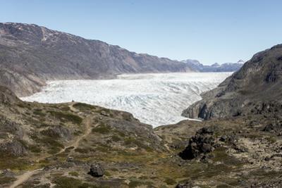 Narsarsuaq Sermia, Narsarsuaq, southern Greenland, Polar Regions