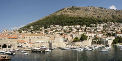 Old harbour at Dubrovnik, Croatia, Europe