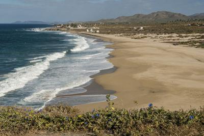Punta Gasparena, Pacific coast south from Todos Santos, Baja California, Mexico, North America