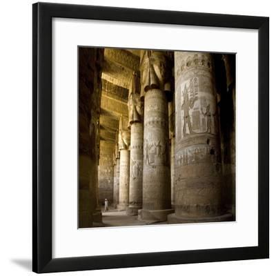 The Outer Hypostyle Hall in the Temple of Hathor, Dendera Necropolis, Qena
