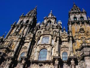 Catedral Del Apostol, Santiago De Compostela, Galicia, Spain by Tony Wheeler