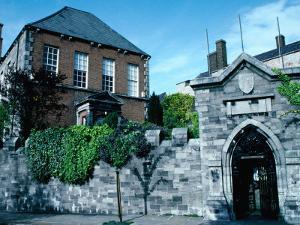 Exterior of Marsh Library (1701), Dublin, Ireland by Tony Wheeler