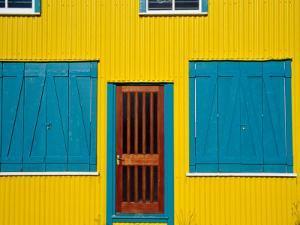 Facade of House, Stanley, East Falkland, Falkland Islands by Tony Wheeler