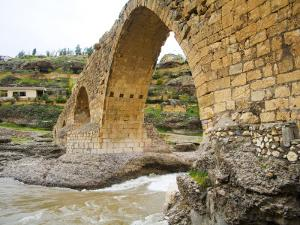 Historic Delal Bridge ('Beautiful Bridge'), Kurdistan by Tony Wheeler