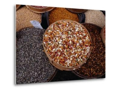 Legumes, Seeds and Nuts for Sale at Souq, Damascus, Rif Dimashq, Syria