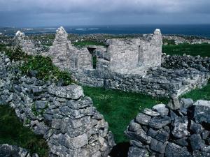 Ruins of Teampall an Cheathrair Alainn, or Church of the Beautiful Four, Ireland by Tony Wheeler