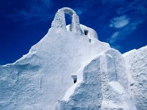 White-Washed Church of Panagia Paraportiani, Mykonos Island, Greece by Tony Wheeler