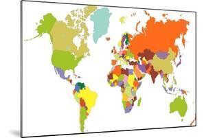 World Map by tony4urban