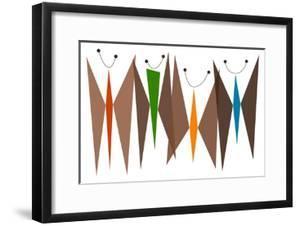 Butterflies - Browns by Tonya Newton