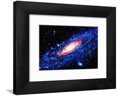 Painting Of Galaxy