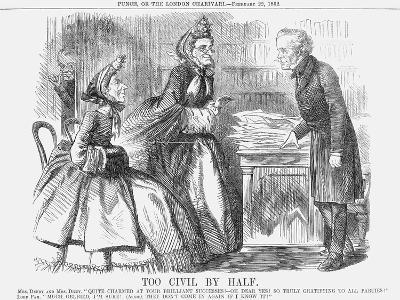 Too Civil by Half, 1862--Giclee Print