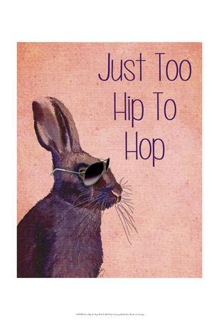 Too Hip To Hop Pink-Fab Funky-Art Print