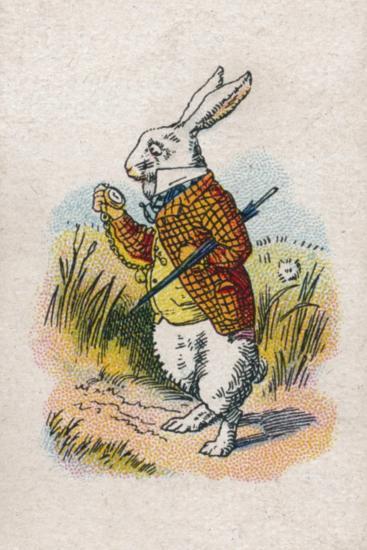 Too Late Said the Rabbit, 1930-John Tenniel-Giclee Print