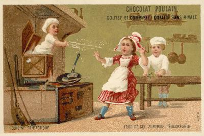 Too Much Salt - Unpleasant Surprise--Giclee Print