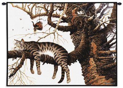 Too Pooped to Participate-Charles Wysocki-Wall Tapestry