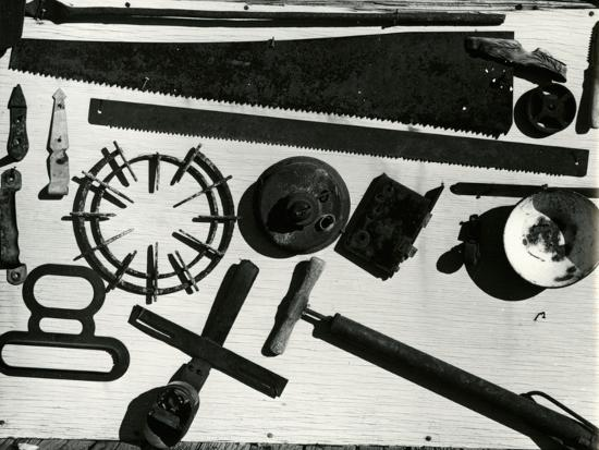 Tools, c. 1940-Brett Weston-Photographic Print