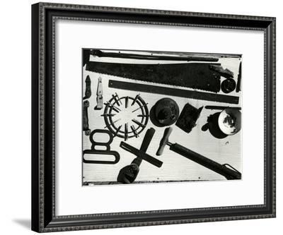 Tools, c. 1940-Brett Weston-Framed Photographic Print