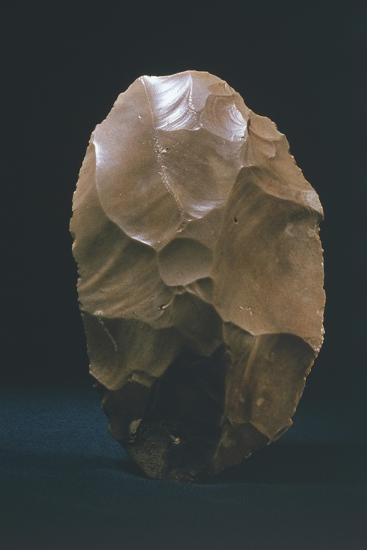 Tools Made of Flint, France, Paleolithic Age--Giclee Print